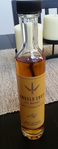 Angel's Envy Rye Whiskey Sample Bottle