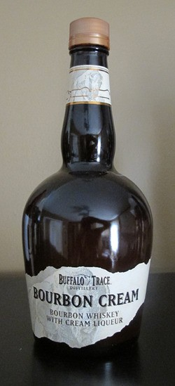 Buffalo Trace Bourbon Cream bottle