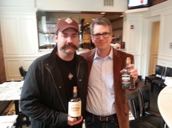 Joe Ledbetter of Chattanooga Whiskey and Ernie Ayres of WhiskeyNose.com