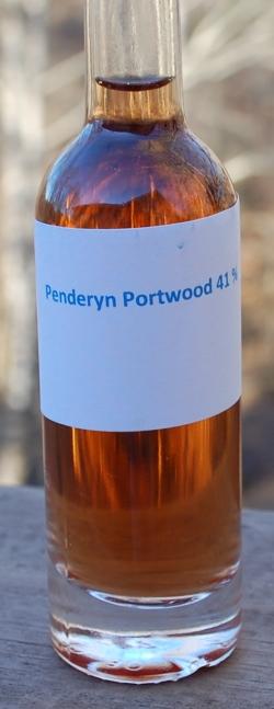 Penderyn Portwood 41 sample bottle