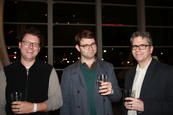 Three Amigos at the Science of Beer event
