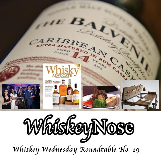 Whiskey Wednesday Roundtable No. 19 via Whiskeynose.com